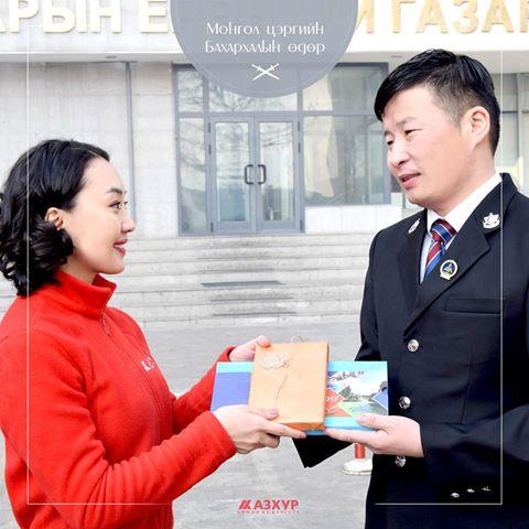 Монгол цэргийн бахархлын өдөрт зориулав